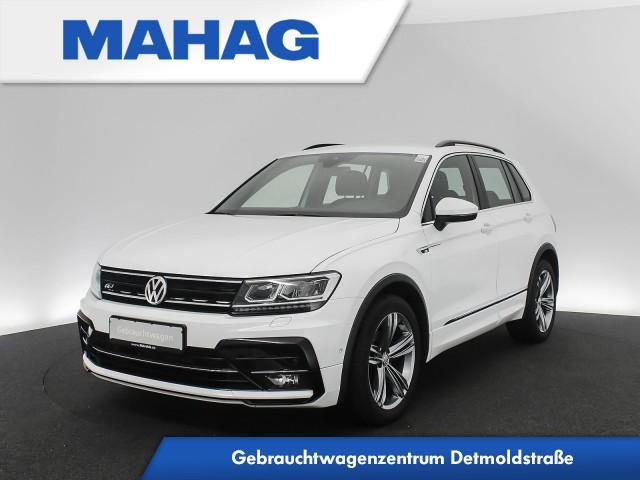 Volkswagen Tiguan 1.4 TSI R line Navi LED Standhz. Kamera AppConnect ParkAssist LightAssist LaneAssist FrontAssist 19Zoll DSG, Jahr 2017, Benzin