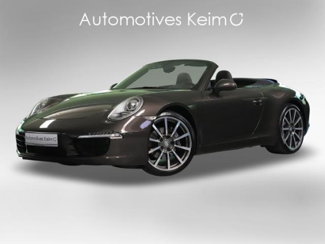 Porsche 991 911 CABRIO SPORTABGAS LEDER PCM PA TEMP SH, Jahr 2012, Benzin
