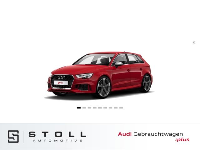 Audi RS3 Sportback Navi+Tempomat+SportabGas+PDC+LED+++, Jahr 2019, Benzin