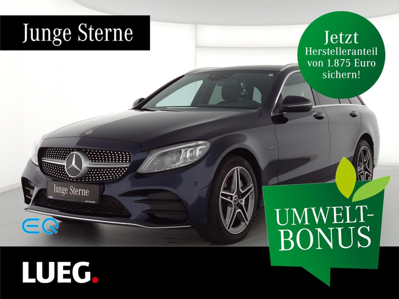 Mercedes-Benz C 300 de T AMG+COM+Mbeam+Distr+SpurPk+HUD+Kamera, Jahr 2020, Hybrid_Diesel