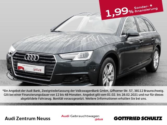 Audi A4 1.4 TFSI S-tronic LEDER NAVI SHZ ELKO TEM Avant basis, Jahr 2017, Benzin
