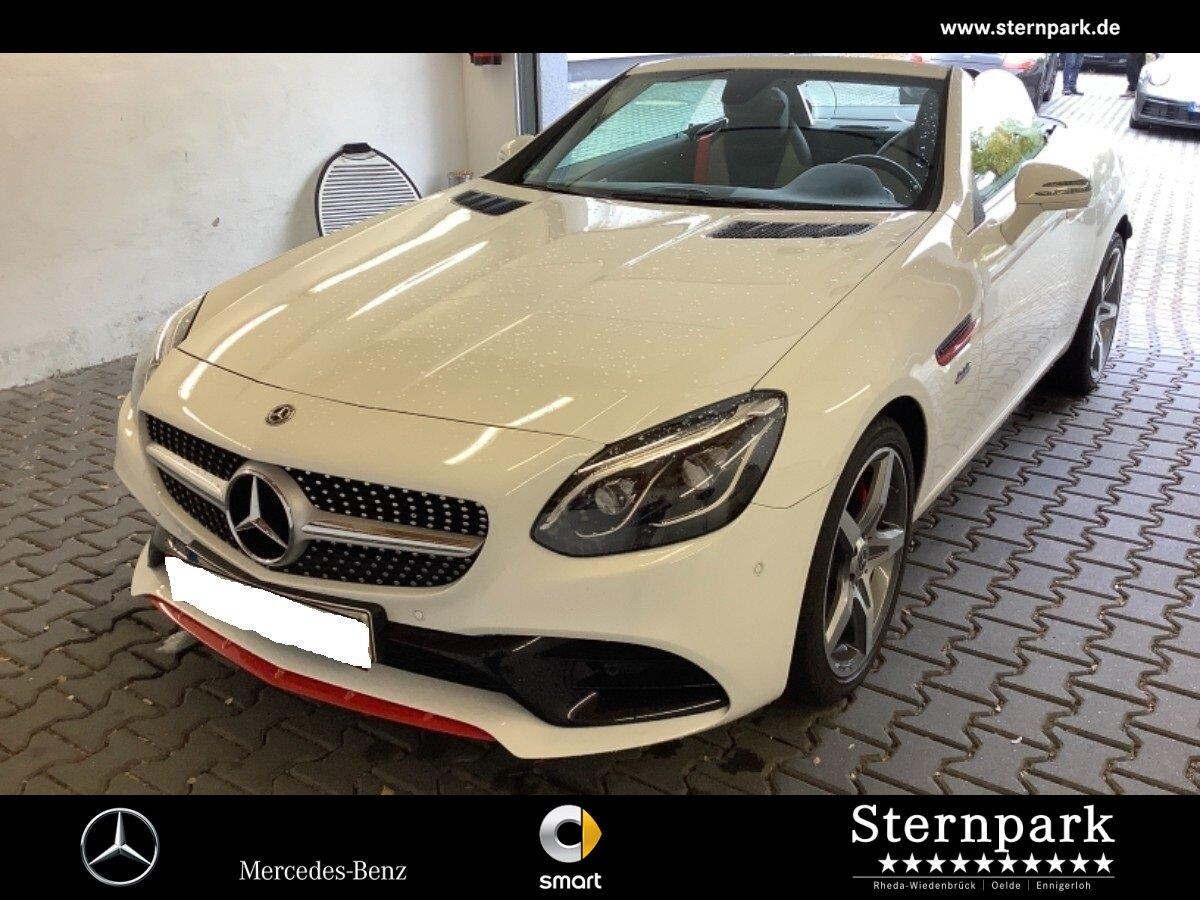 Mercedes-Benz SLC 200 AMG RedArt Edition*Pano*LED*Kamera*Airsc, Jahr 2018, Benzin
