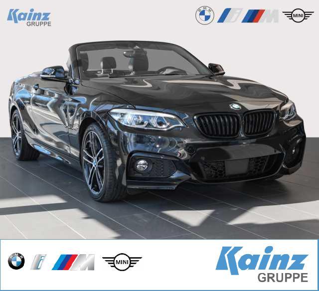 BMW 230i Cabrio Aut. M Sport 18'/AHK/Lenkradheizung/Harmon Kardon/Sitzverst. elektr., Jahr 2021, Benzin