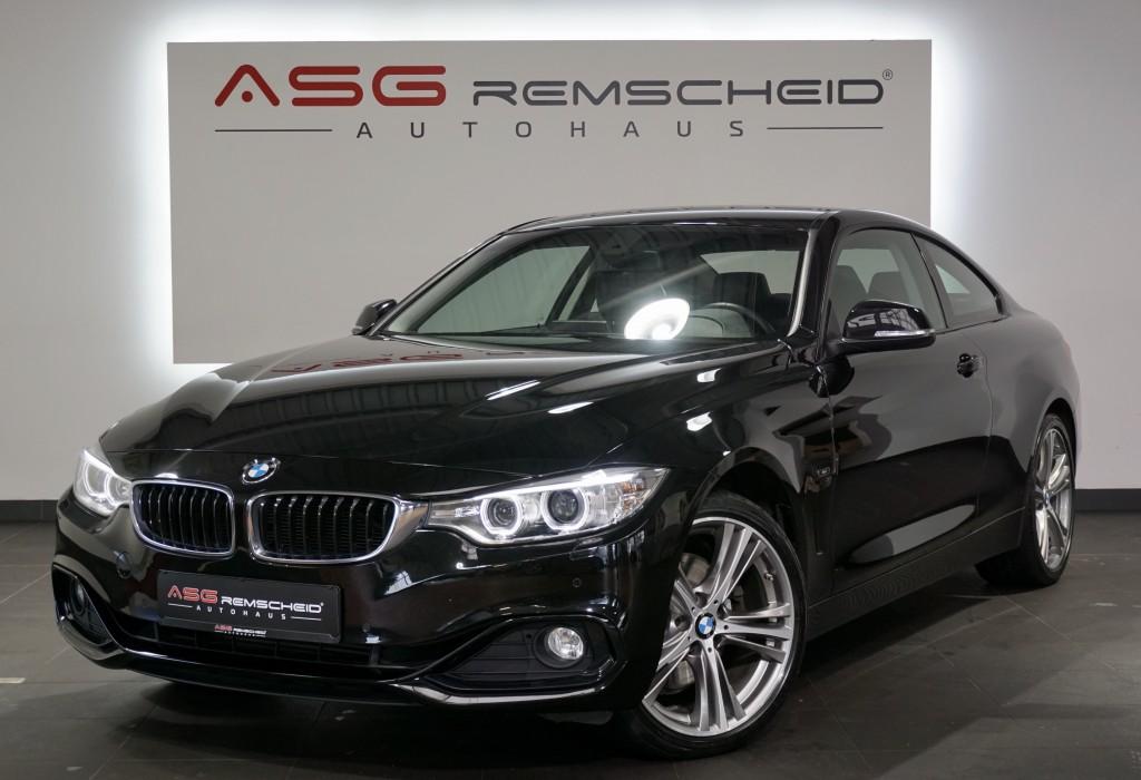 BMW 428 i xD Autm. Coupé Sport *19 *Leder *Xenon *, Jahr 2014, Benzin