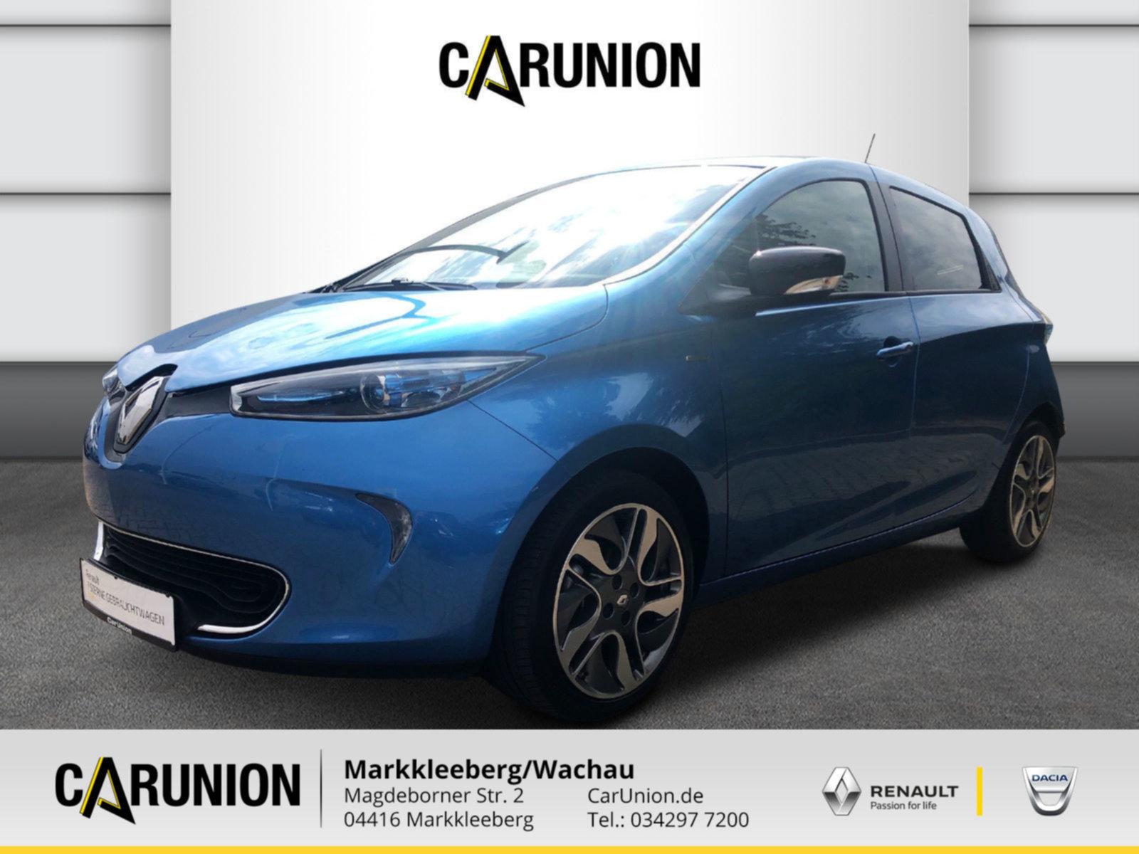 Renault ZOE LIFE Batteriemiete Option auf LIMITED Paket, Jahr 2018, Elektro