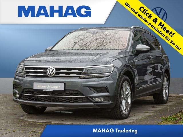 Volkswagen Tiguan Allspace 2.0 TDI 4Motion Highline AHK/ACC/Leder/Discover/DAB+/Parkassist/Kamera/Business/20 Zoll DSG, Jahr 2018, Diesel