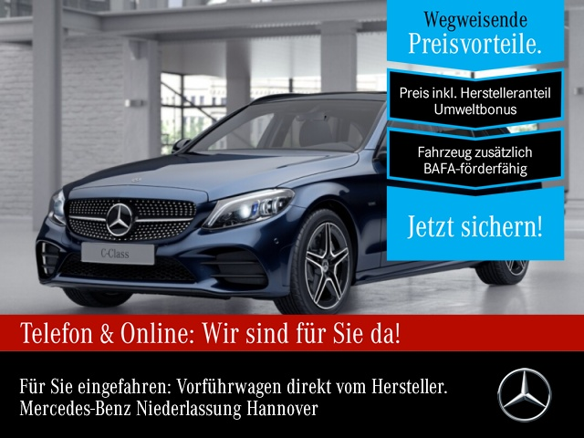 Mercedes-Benz C 300 e T AMG Pano Multibeam Burmester Distr. PTS, Jahr 2020, Hybrid