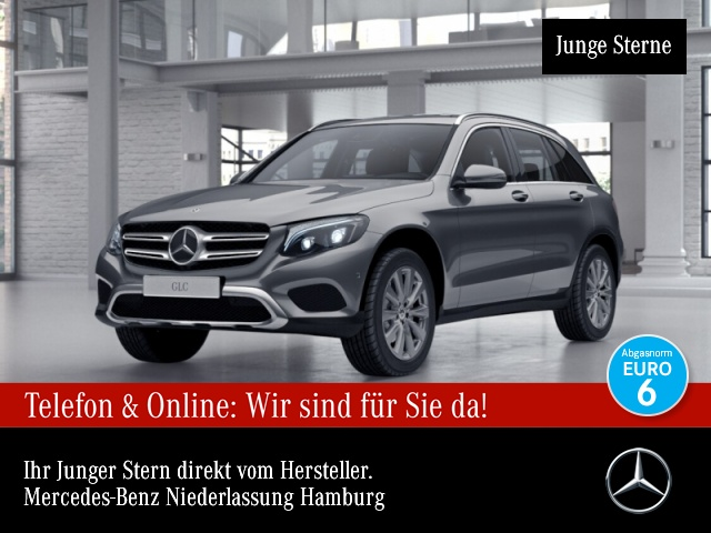 Mercedes-Benz GLC 250 d 4M Exclusive Fahrass Stdhzg Distr. PTS, Jahr 2017, Diesel