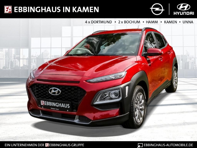 Hyundai Kona Select 2WD 1.0 T-GDI LED-Tagfahrlicht Multif.Lenkrad NR RDC Alarm Klima Temp AUX, Jahr 2018, Benzin