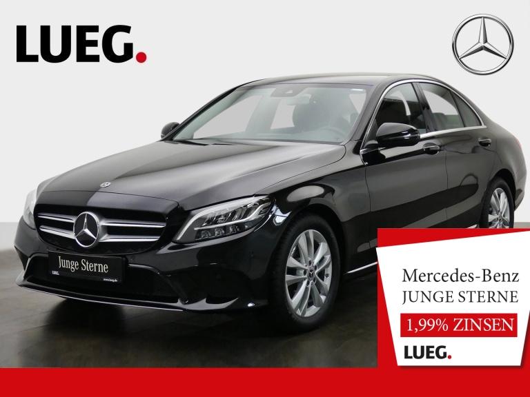 Mercedes-Benz C 200 d Avantgarde+Navi+LED-HP+SpurP+CarP+Kamera, Jahr 2019, Diesel