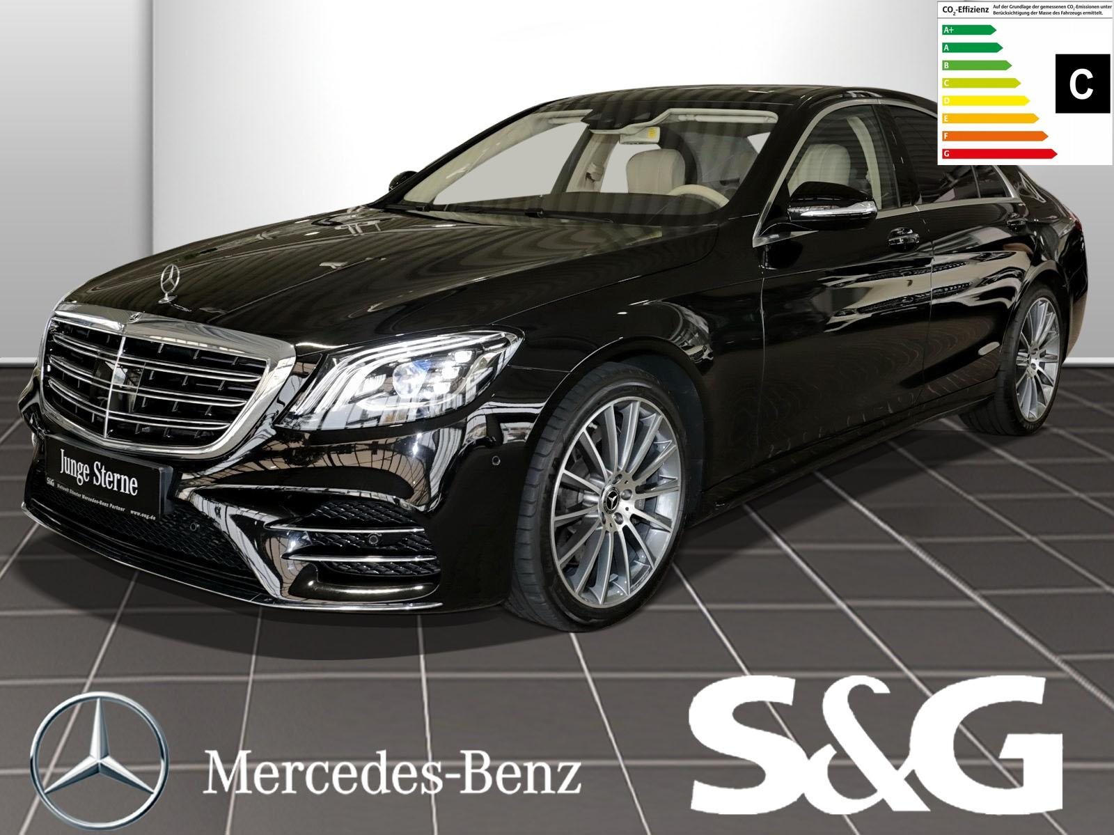 Mercedes-Benz S 560 4MATIC AMG-Line PLUS RüKam/PanoDach/COMAND, Jahr 2017, Benzin
