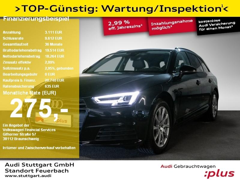 Audi A4 Avant 2.0 TDI LED B&O Navi PDC plus Connect, Jahr 2017, Diesel