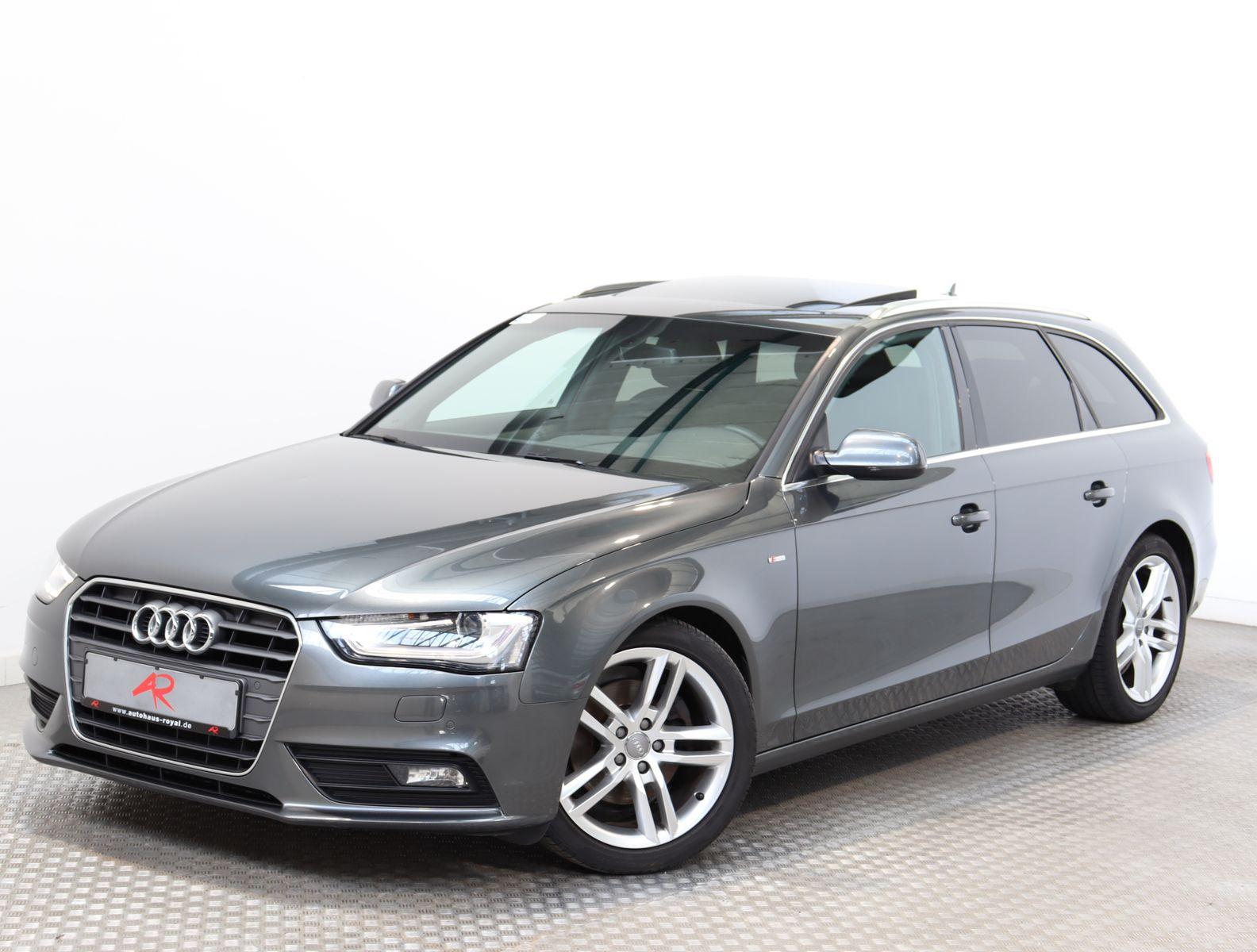 Audi A4 Avant 2.0 TDI S LINE EURO6,DACHHIMMEL SCHWARZ, Jahr 2015, Diesel