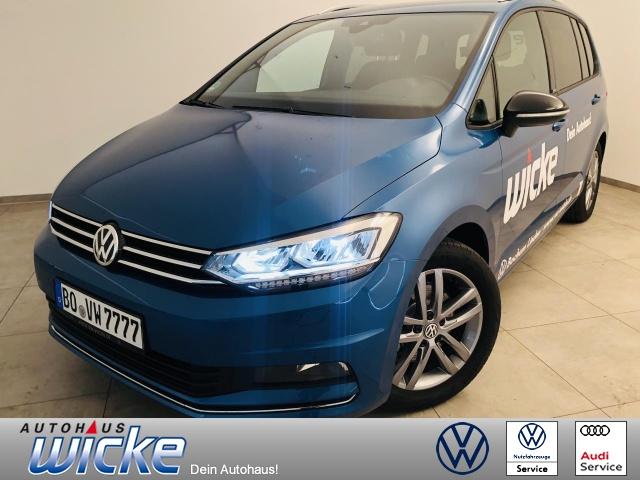 Volkswagen Touran UNITED 1.5 l TSI OPF 7-Sitzer Plus-Paket, Jahr 2020, Benzin