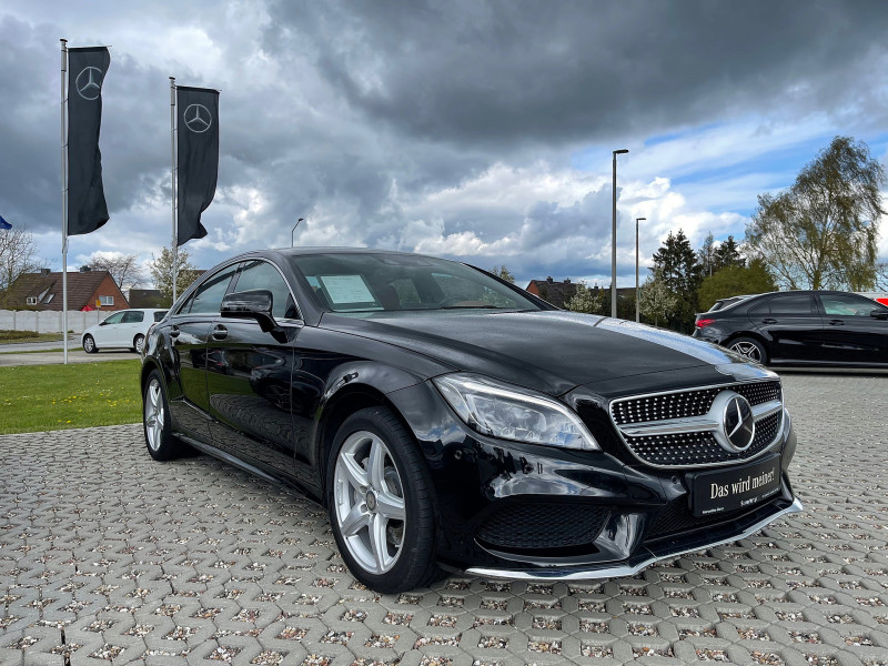 Mercedes-Benz CLS 350 BT d AMG/Burmester/Comand/Fahrassist., Jahr 2015, Diesel