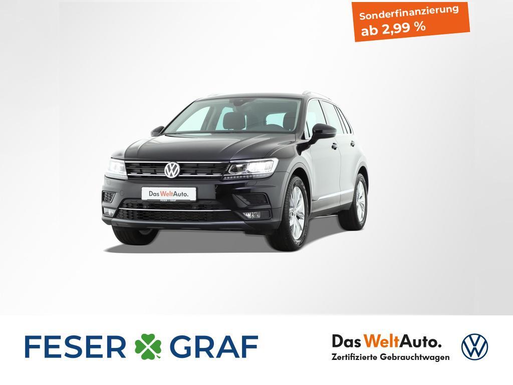 Volkswagen Tiguan 2.0 TDI Highline Navigation LED ACC, Jahr 2019, Diesel