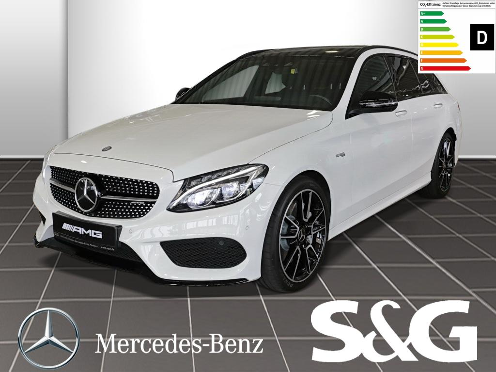 Mercedes-Benz C 43 AMG T 4MATIC RüKam./Distronic/PanoDach/Navi, Jahr 2016, Benzin