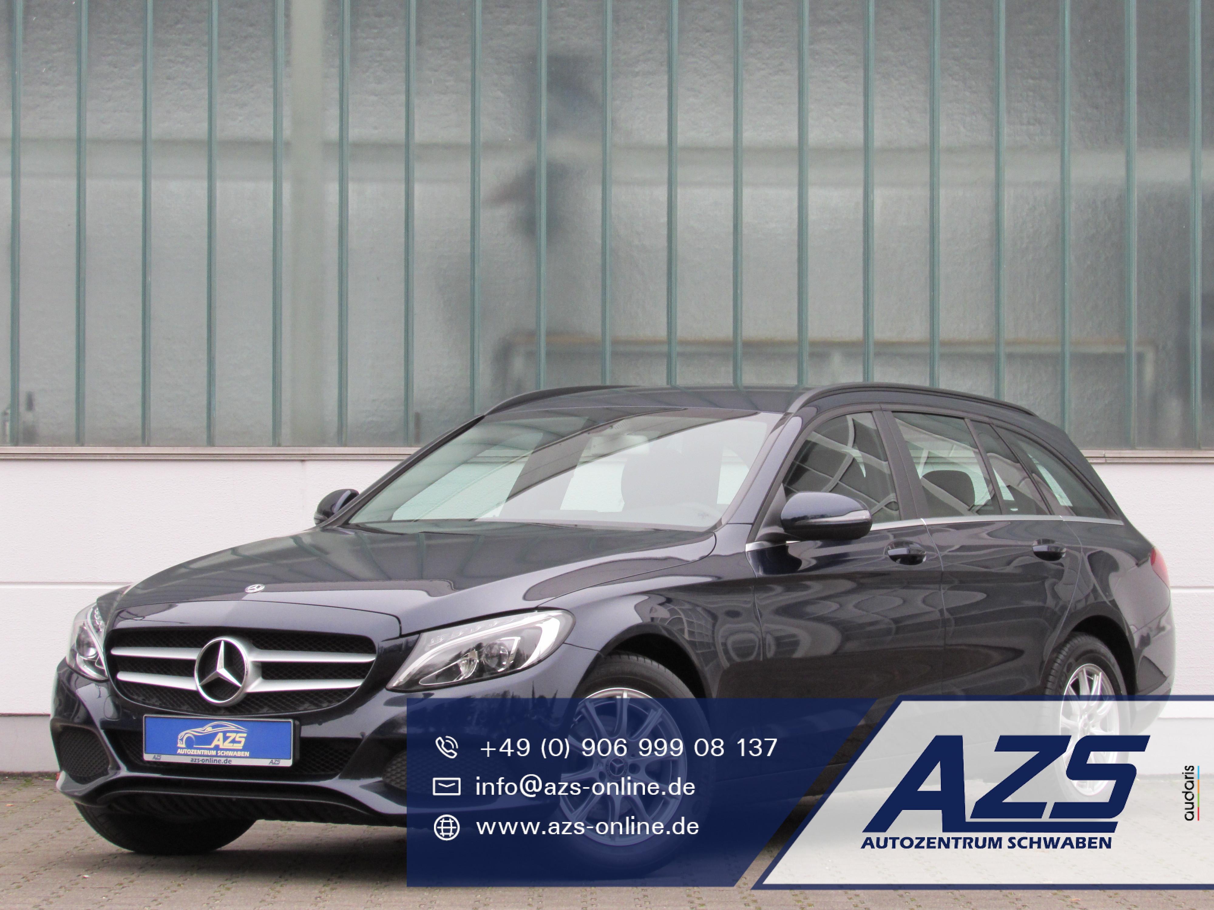 Mercedes-Benz C 200 | Navi | LED | AZS-SICHERER-ONLINE-KAUF, Jahr 2017, Diesel