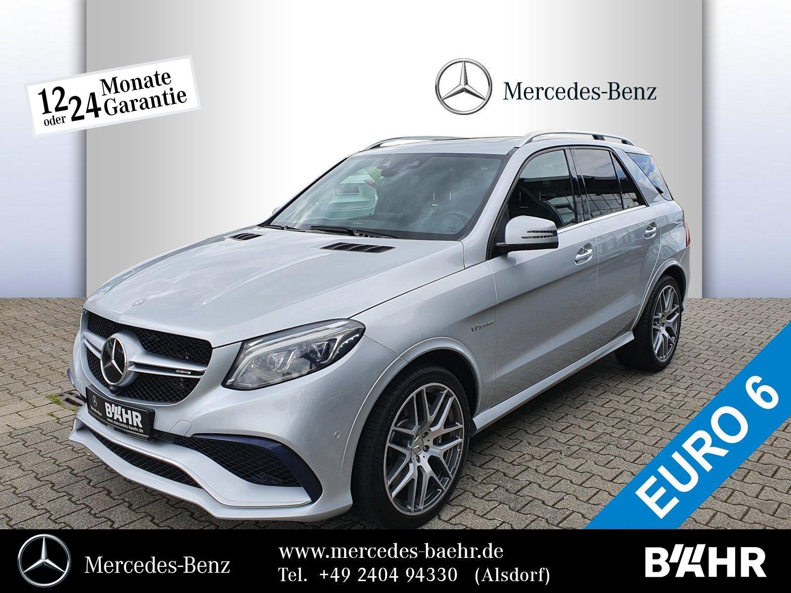 "Mercedes-Benz GLE 63 AMG 4M DriverŽs Package/Airmatic/AHK/21"", Jahr 2016, petrol"