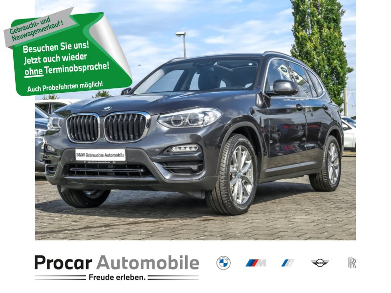 BMW X3 xDrive20d Navi Prof. Head-Up DAB H/K AHK Pano, Jahr 2018, Diesel