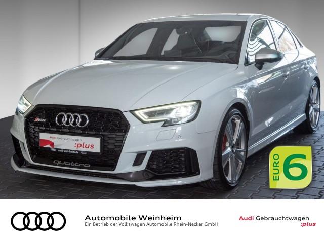 Audi RS3 Limousine 2.5 TFSI qu. Matrix-LED Automatik Navi uvm, Jahr 2018, Benzin