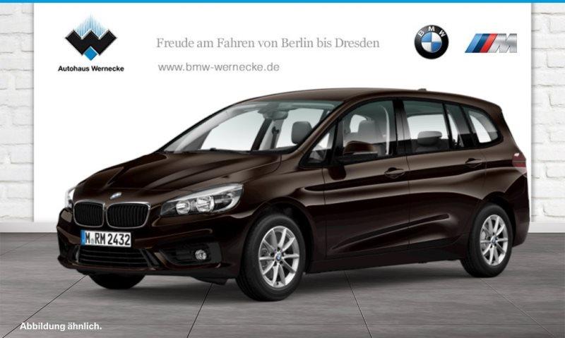 BMW 216 Gran Tourer i Advantage Komfortzg. Tempomat, Jahr 2019, Benzin