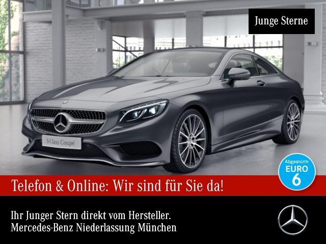 Mercedes-Benz S 500 Cp. AMG Fahrass 360° Airmat Stdhzg Pano TV, Jahr 2017, Benzin