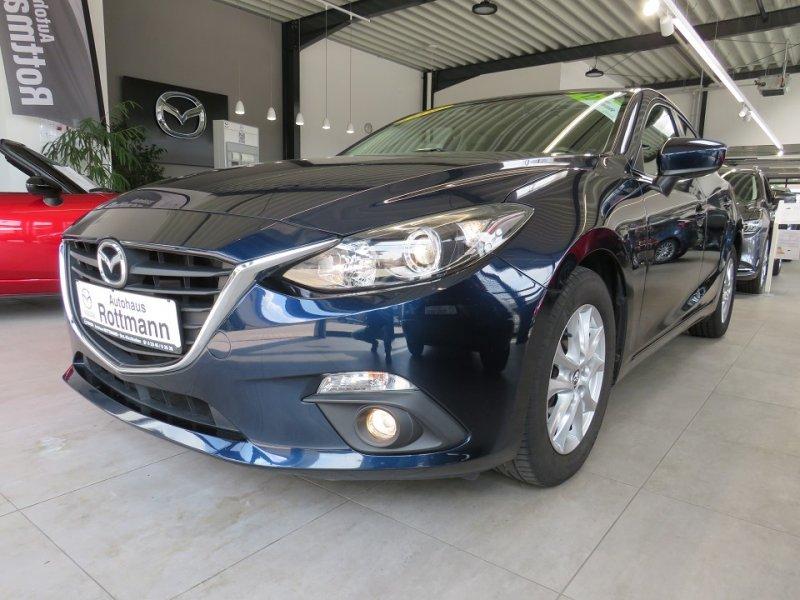 Mazda 3 SKYACTIV-G 120,Center-Line,Navigation,6Gang,16 Aluräder,Euro6... Sitzheizung,Navi,Tempomat,Euro6,6Gang,PD, Jahr 2015, Benzin