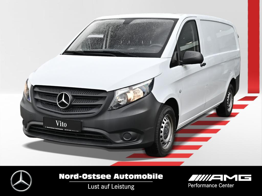 Mercedes-Benz Vito 111 lang Radio AHK Holzboden Tempomat, Jahr 2017, Diesel