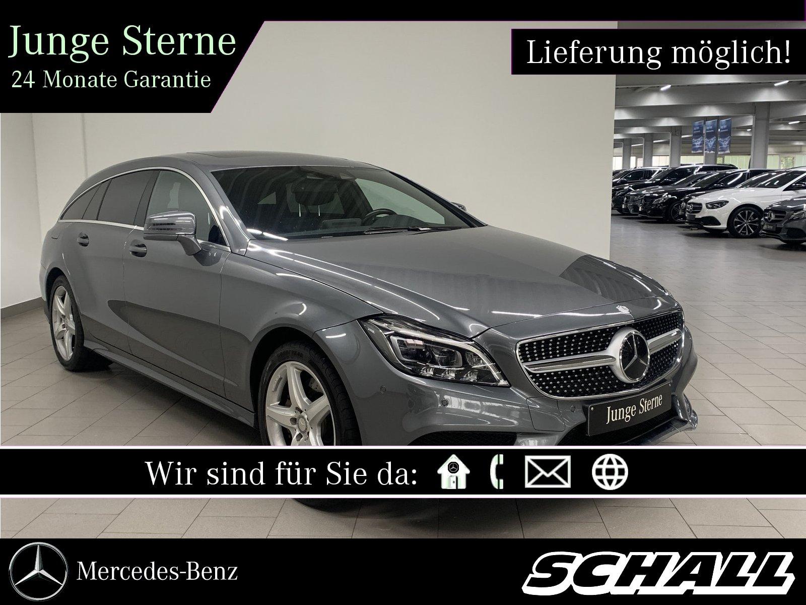 Mercedes-Benz CLS 350 d 4M SB 9G+AMG+DISTRONIC+MULTIBEAM+AIRM., Jahr 2016, Diesel