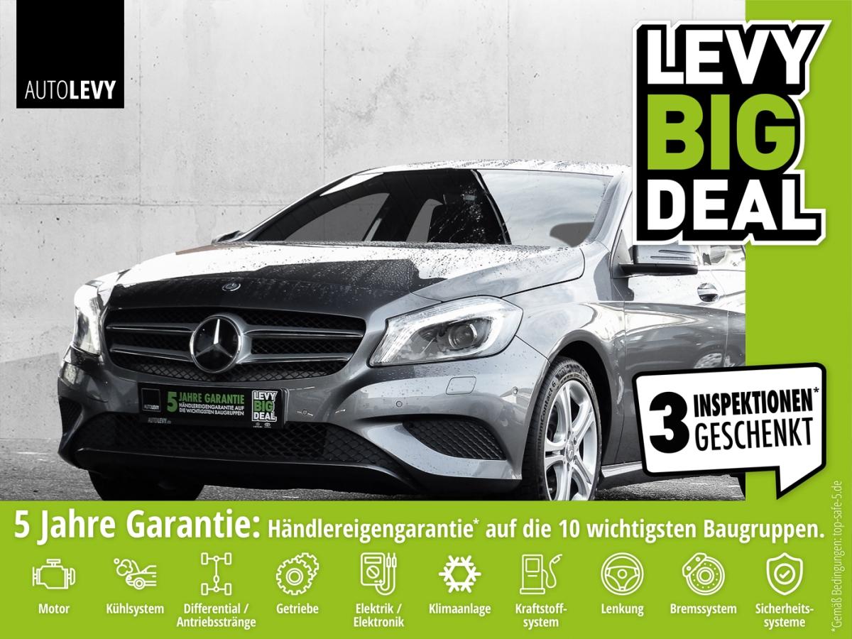 Mercedes-Benz A 200 URBAN *KLIMA*NAVI*BLUETOOTH*, Jahr 2015, Benzin