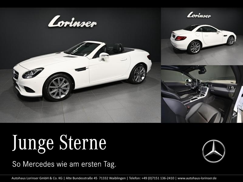 Mercedes-Benz SLC 180 NAVIGATION/PARKTRONIC/LED/AIRSCARF/SHZ, Jahr 2017, Benzin