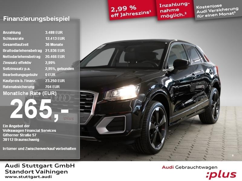 Audi Q2 design 1.0 TFSI Leder Navi Keyless PDCplus, Jahr 2018, Benzin