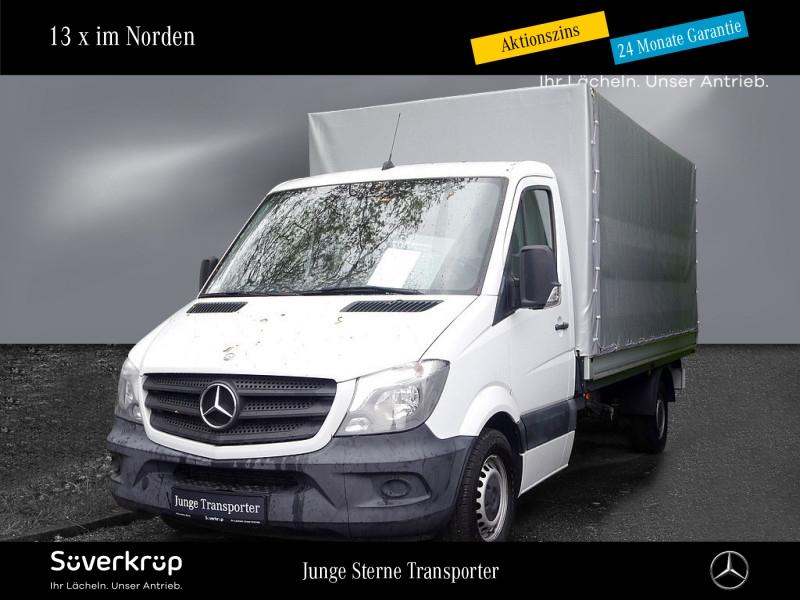 Mercedes-Benz Sprinter 313 CDI Pritsche/maxi/Plane/Spriegel/AH, Jahr 2014, Diesel