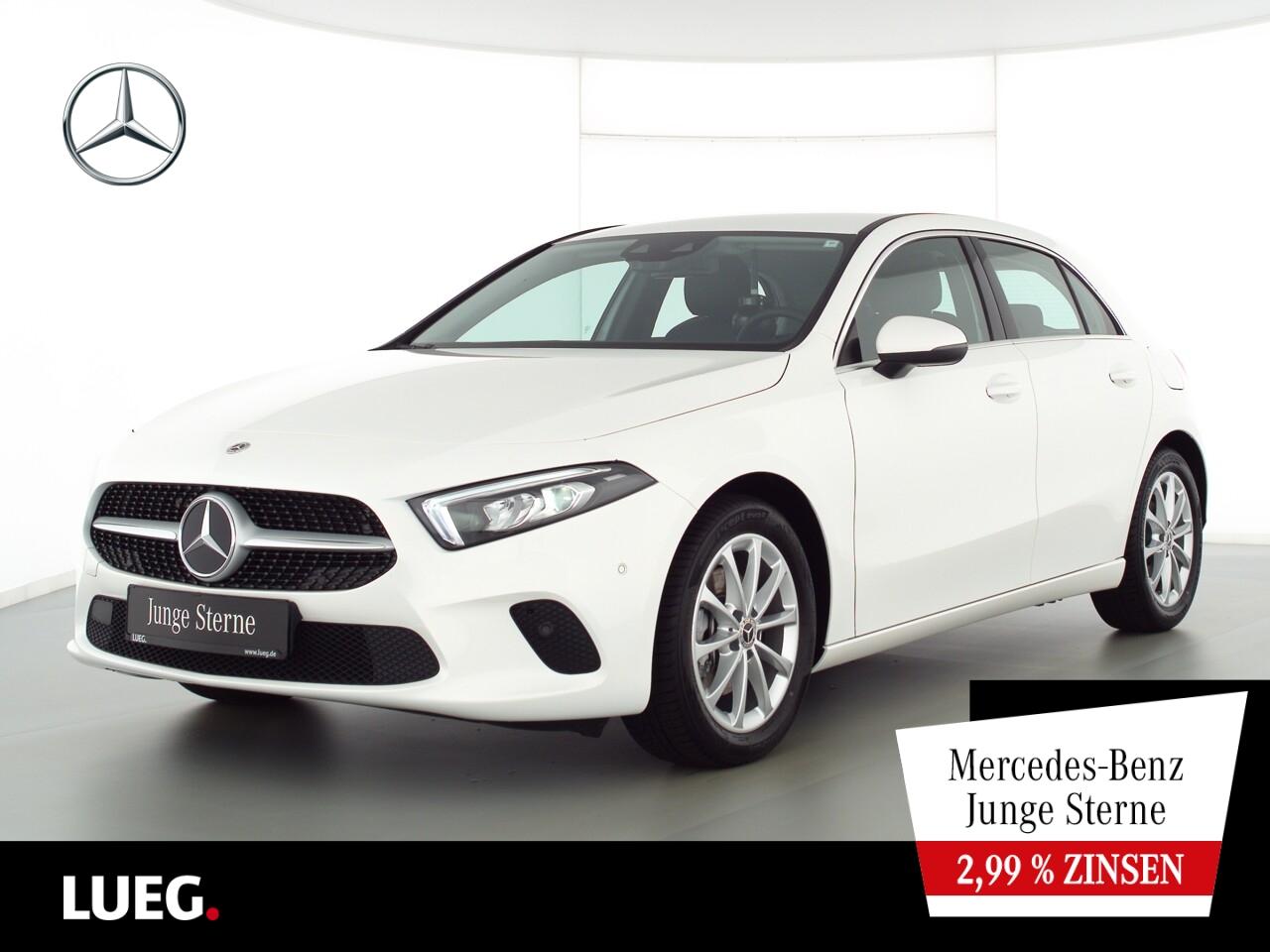 Mercedes-Benz A 200 Progressive+MBUXHighEnd+LED-HP+Sthzg+ParkA, Jahr 2020, Benzin