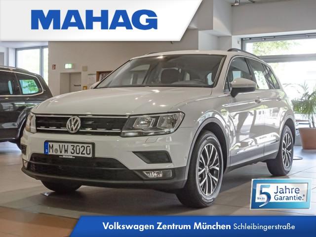 Volkswagen Tiguan Comfortline 1,5 TSI OPF Tiguan 1.5actCLOPFFR 96 TSIM6F, Jahr 2020, Benzin