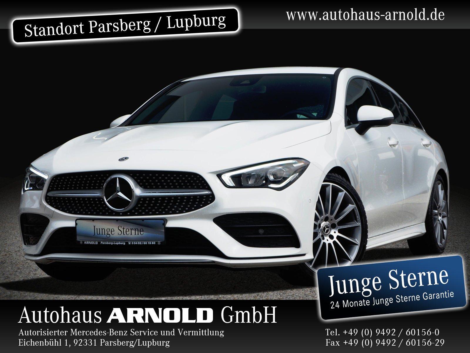 Mercedes-Benz CLA 220 Shooting Brake d AMG Line LED Navi Sitzh, Jahr 2019, Diesel