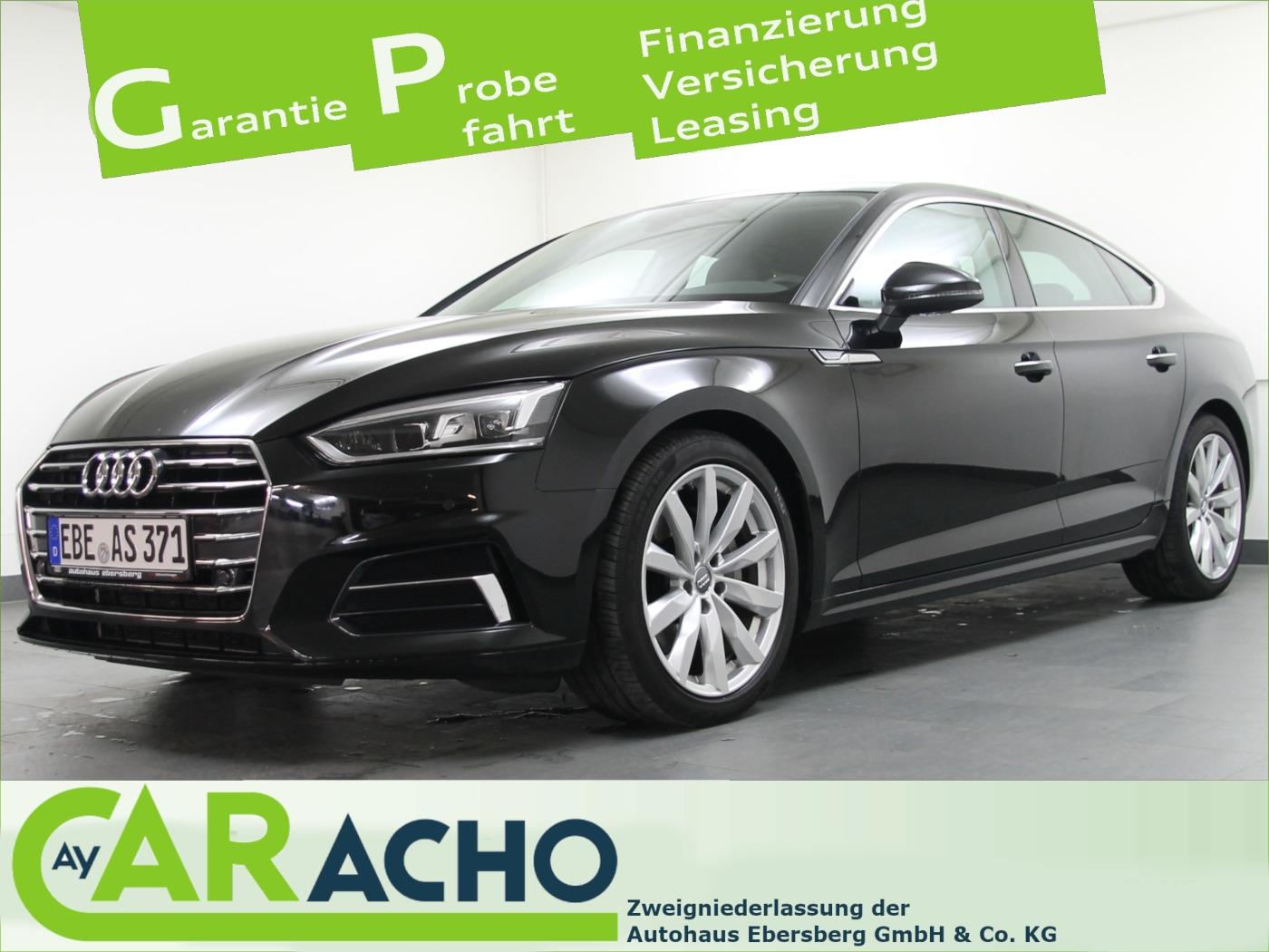 Audi A5 Sportback design 2.0 TDI S tronic VirtCo LED, Jahr 2018, Diesel