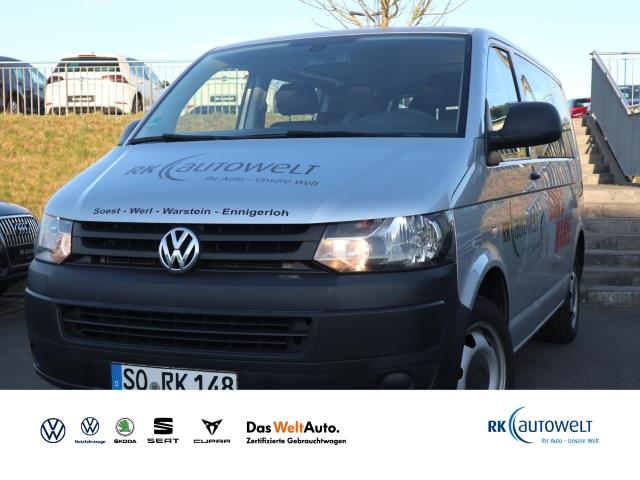 Volkswagen T5 Transporter Kombi 2.0 TDI Navi Klima PDC, Jahr 2013, Diesel