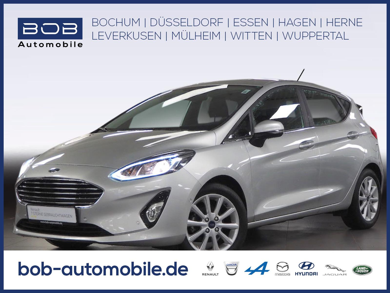 Ford Fiesta Titanium Kamera Carplay Android Auto SHZ, Jahr 2018, Benzin