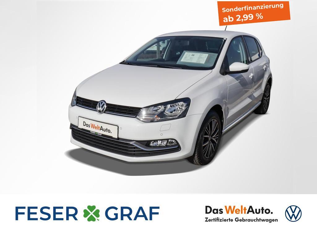 Volkswagen Polo 1.0 Allstar Climatronic, Jahr 2017, Benzin