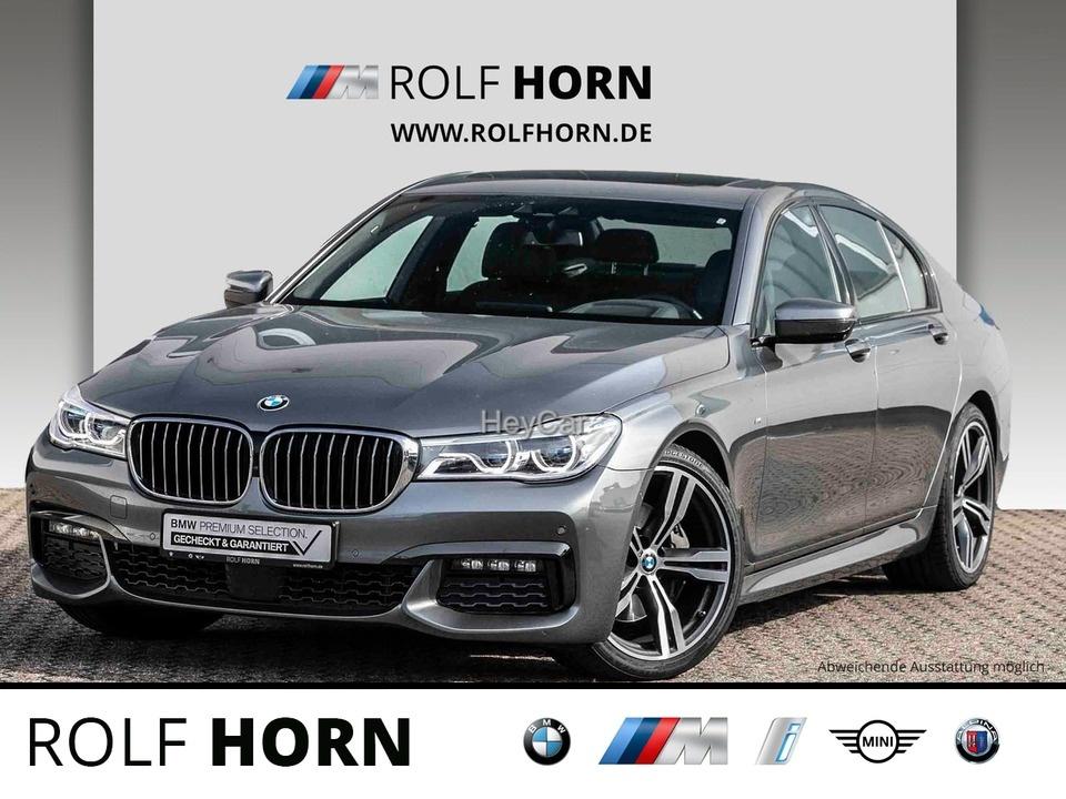 BMW 740iA M Sportpaket Pano Laserlicht HUD H&K 20'', Jahr 2018, Benzin