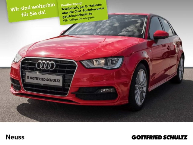 Audi A3 Sportback 1,4 TFSI S-LINE NAVI B&O STANDHZG Ambition, Jahr 2013, Benzin