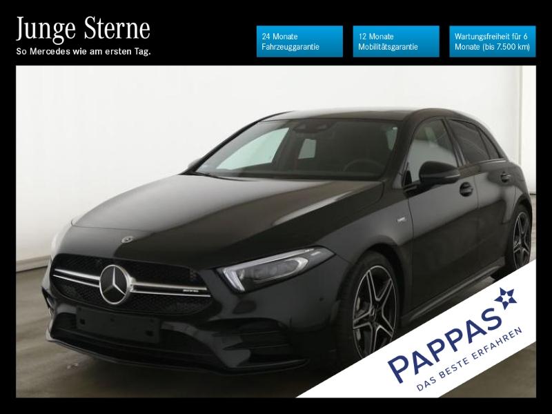 Mercedes-Benz A 35 AMG 4MATIC Navi+Pano.-Dach+Night+AMG Line+L, Jahr 2019, Benzin