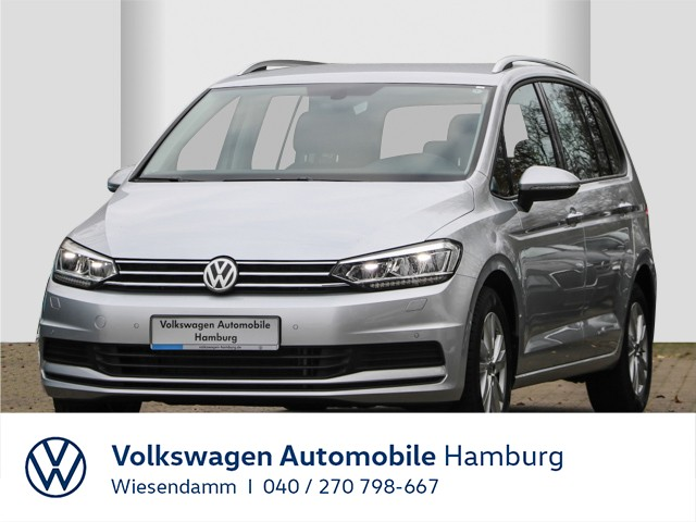 Volkswagen Touran 1.5 TSI DSG Comfortline Navi 7-Sitze LM Klimaautomatik LED, Jahr 2020, Benzin