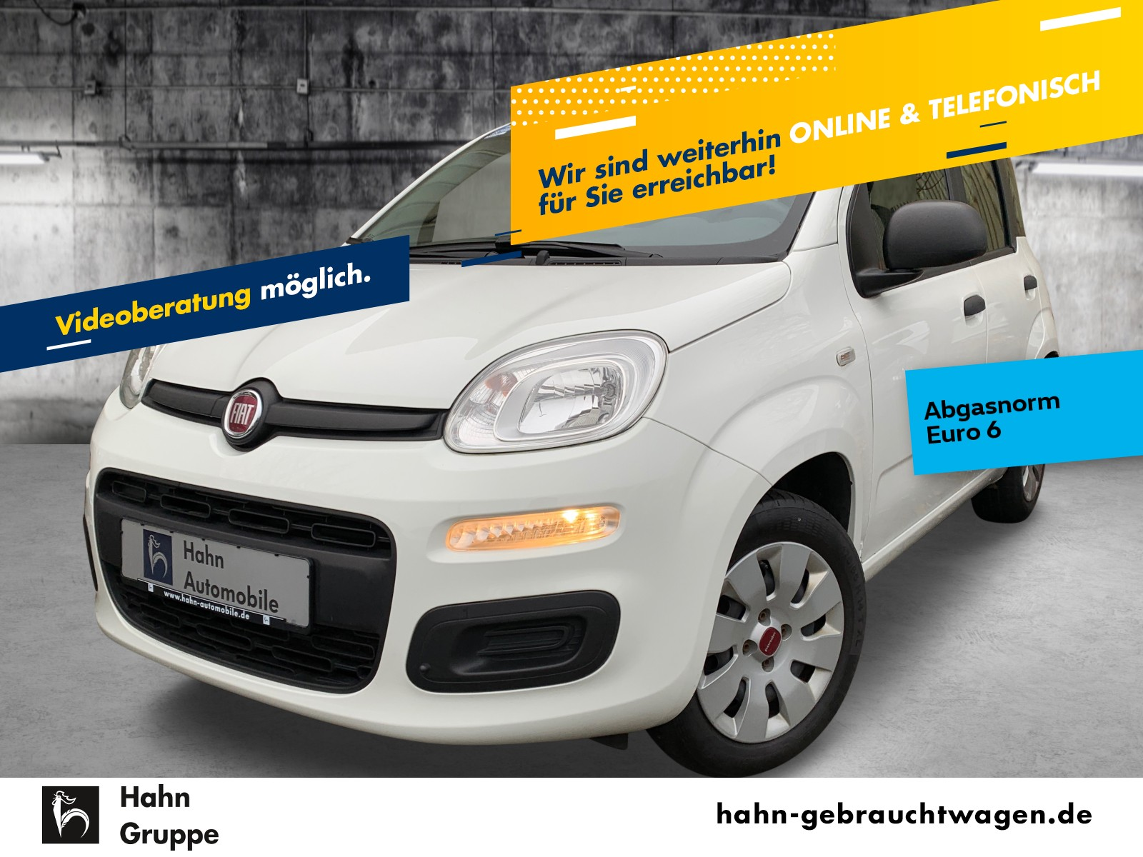 Fiat Panda 1.2 Pop Klima el.Fenster el.Spiegel ZV, Jahr 2014, Benzin