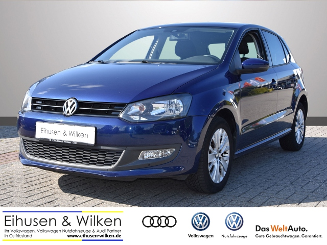 Volkswagen Polo 1.2*LIFE*CLIMATRONIC*SHZ*PDC*GRA*MFA*, Jahr 2013, petrol