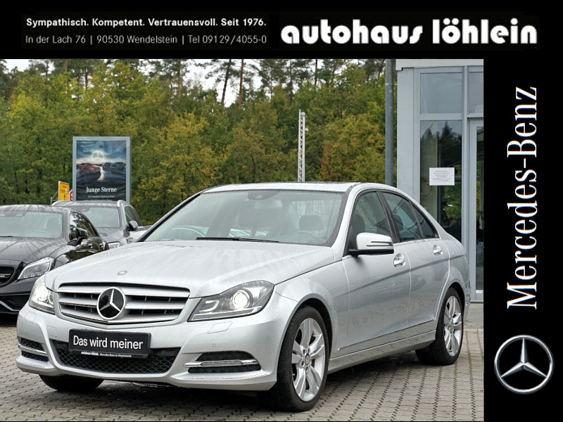Mercedes-Benz C 350 CDI BE BLACK-WEEK BIS ZU -40% Elegance, Jahr 2013, Diesel