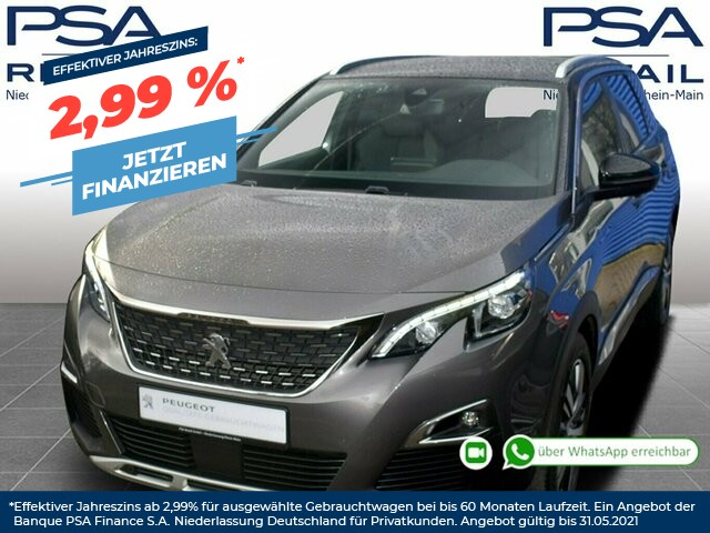 Peugeot 5008 BlueHDi 150 Allure GT-Line *3D-Navi*7-Si*Kamera*, Jahr 2017, Diesel