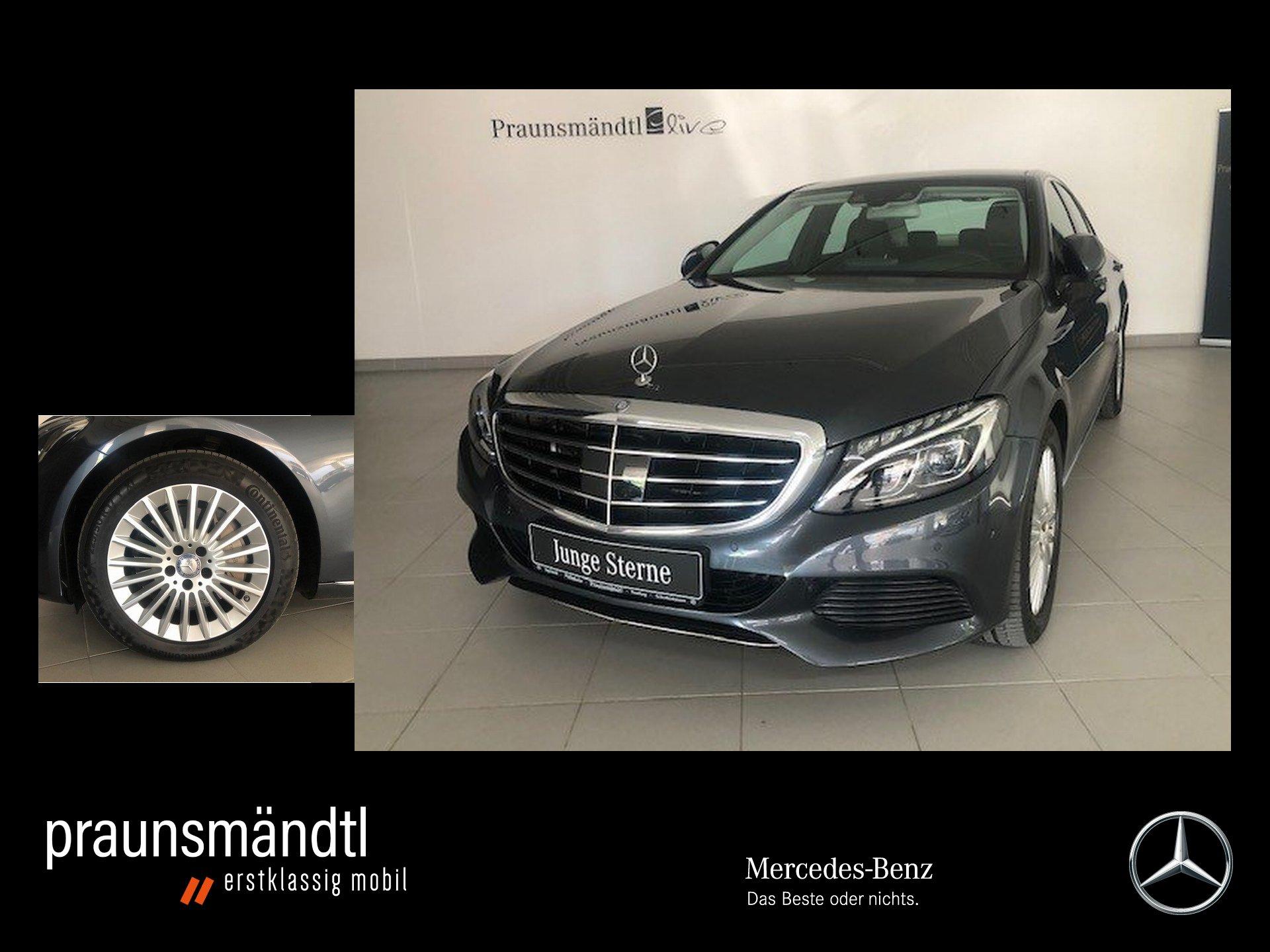 Mercedes-Benz C 400 4M Exclusive LED/Pano/Com/AIR/Distr+/Kamer, Jahr 2015, Benzin